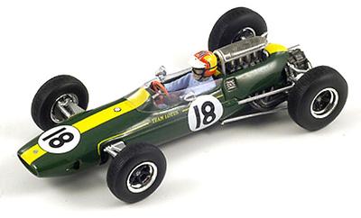 "Lotus 33 ""GP. Belgica"" nº 18 Mike Spence (1965) Spark 1/43"