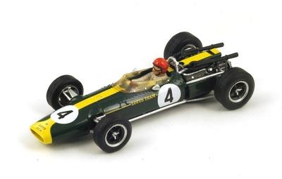 """Lotus 43 """"GP. Francia""""nº4 Peter Arundell (1966) Spark 1:43"""
