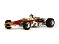 "Lotus 49 ""GP. España"" nº 10 Graham Hill (1968) Quartzo 1:18"