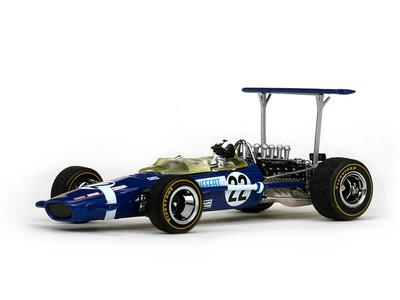 "Lotus 49B ""GP. Gran Bretaña"" nº 22 Jo Sifert (1968) Quartzo 1/43"