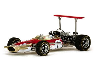 """Lotus 49B """"GP. Mónaco"""" nº 1 Graham Hill (1969) Quartzo 1/43"""