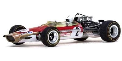 """Lotus 49B """"GP. Mónaco"""" nº 2 Richard Attwood (1969) Quartzo 1/43"""