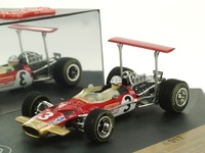 "Lotus 49B ""GP. Sudáfrica"" nº 3 Mario Andretti (1969) Quartzo 1/43"
