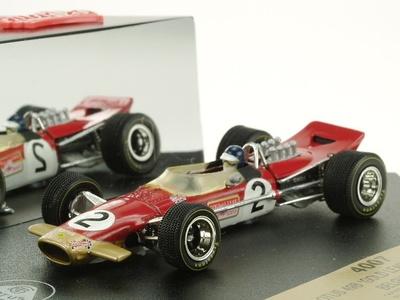 "Lotus 49B Gold Leaf ""GP. Bélgica"" nº 2 Jackie Oliver (1968) Quartzo 1/43"