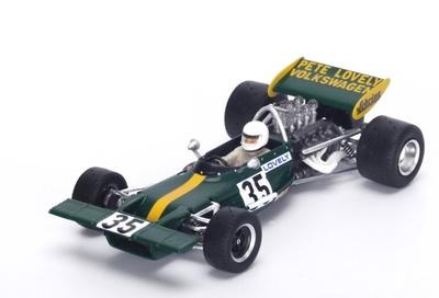 "Lotus 69 ""GP. Canadá"" nº 35 Pete Lovely (1971) Spark 1/43"