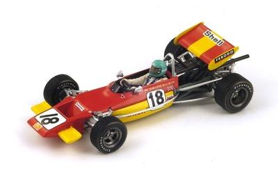 "Lotus 69 ""GP. Pau"" nº 18 Reine Wisell (1971) Spark S2147 1:43"