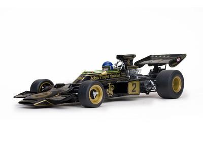 """Lotus 72E """"1º GP. Italia""""  nº 2 Ronnie Peterson (1973) Quartzo 1:18"""