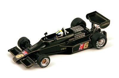 "Lotus 77 ""GP. Mónaco"" nº 6 Gunnar Nilsson (1976) Spark S1845 1/43"