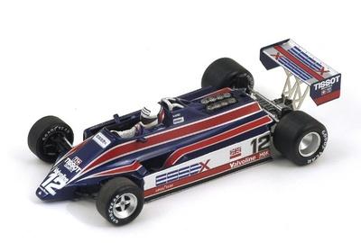 """Lotus 81 """"2º GP. Brasil"""" nº 12 Elio de Angelis (1980) Spark 1:43"""