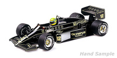 Lotus 97T nº 12 Ayrton Senna (1985) Minichamps 1:12