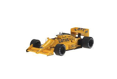 "Lotus 99T ""GP. Gran Bretaña"" nº 11 Satoru Najakima (1987) Reve 1/43"