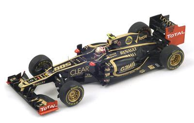 """Lotus E20 """"GP F1 Mónaco"""" nº 10 Romain Grosjean (2012) Spark 1/43"""