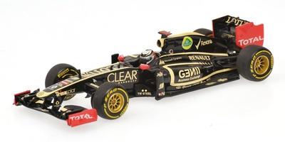 "Lotus E20 ""Showcar"" nº 9 Kimi Raikkonen (2012) Minichamps 1/43"