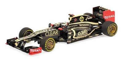 Lotus E20 nº 9 Kimi Raikkonen (2012) Minichamps 1/43