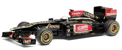 """Lotus E21 """"Show Car"""" nº 7 Kimi Raikkonen (2013) Corgi 1/43"""