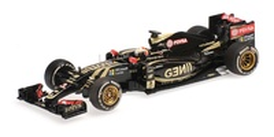 """Lotus E23 """" 3º GP. Bélgica"""" nº 8 Romain Grosjean (2015) Minichamps 1:43"""