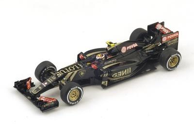 """Lotus E23 """"GP. Malasia"""" n°13 Pastor Maldonado (2015) Spark 1:43"""