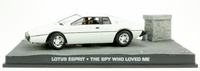 "Lotus Esprit (1977) ""The Spy who Loved Me"" Fabbri 1/43 Entrega 3"
