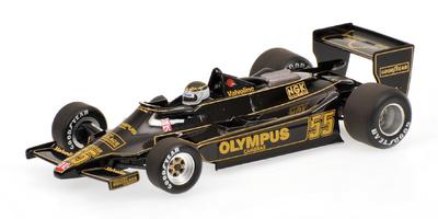 """Lotus Ford 79 """"GP. Canadá"""" nº 55 Jean Pierre Jarier (1978) Minichamps 1/43"""
