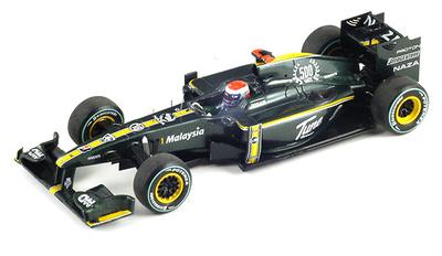 "Lotus T127 ""GP. Europa"" nº 18 Jarno Trulli (2010) Spark 1/43"