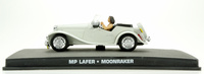 "MP Lafer (1974) James Bond ""Moonraker"" Fabbri 1/43 Entrega 50"