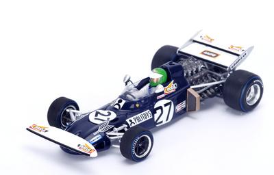 """March 711 """"GP. España"""" nº 27 Henri Pescarolo (1971) Spark 1:43"""