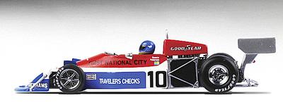"""March 761 """"1º GP. Italia"""" nº 10 Ronnie Peterson (1976) True Scale 1/43"""