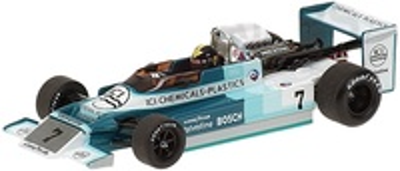 March BMW 792 Campeón Europa F2 'ICI' Derek Daly (1979) Minichamps 1/43