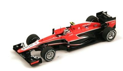 """Marussia MR02 """"GP. Malasia"""" nº 23 Max Chilton (2013) Spark 1:43"""