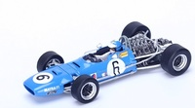 "Matra MS10 ""5º GP. España"" nº 6 Jean Pierre Beltoise (1968) Spark 1:43"