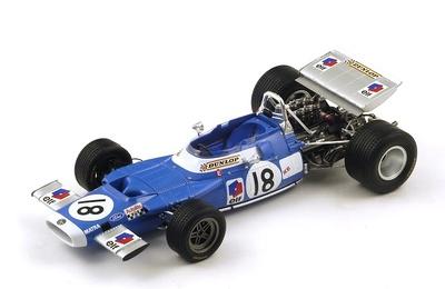 "Matra MS80 ""GP. Canadá"" nº 18 Jean Pierre Beltoise (1969) Spark 1:18"