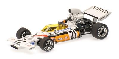"""McLaren M19A """"GP. USA"""" nº 21 Jody Scheckter (1972) Minichamps 1:43"""
