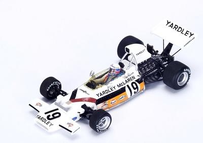 """McLaren M19C """"2º GP. Canadá"""" nº 19 Peter Revson Spark (1972) 1:43"""