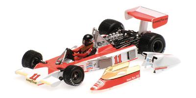 "McLaren M23 ""GP. Japón"" nº 11 James Hunt (1976) Minichamps 1:43"