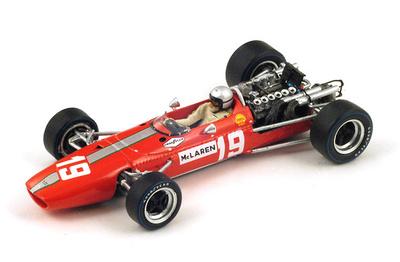 "McLaren M5A BRM ""GP. Canadá"" nº 19 Bruce McLaren (1967) Spark 1:43"