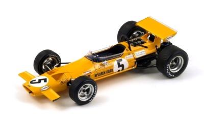"McLaren M7A ""GP. México"" nº 5 Denny Hulme (1969) Spark 1:18"