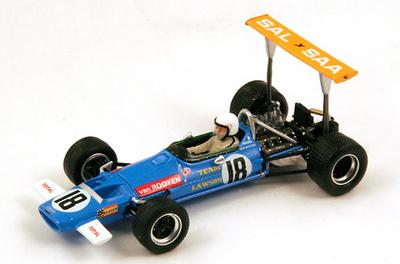 "McLaren M7A ""GP. Sudáfrica"" nº 18 Basil van Rooyen (1969) Spark 1:43"