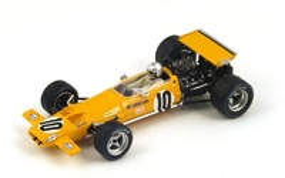"McLaren M7C ""3º GP. Alemania"" nº 10 Bruce McLaren (1969) Spark 1:43"