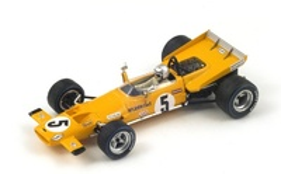 "McLaren M7C ""4º GP. Francia"" nº 5 Bruce Mclaren (1969) Spark S3132 1:43"