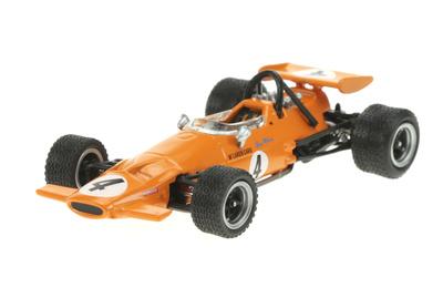"McLaren M7C ""GP. Sudáfrica"" nº 4 Bruce McLaren (1969) Sol90 1:43"