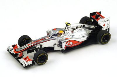 "McLaren MP4-27 ""GP Mónaco"" nº 4 Lewis Hamilton (2012) Spark 1/43"