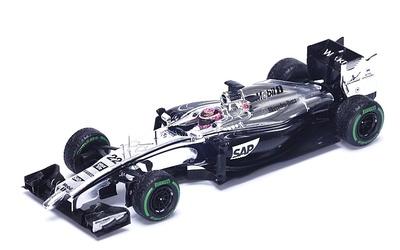 """McLaren MP4-29 """"GP. Gran Bretaña"""" nº 22 Jenson Button (2014) Spark 1:43"""