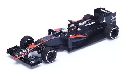 """McLaren MP4-30 """"GP. España"""" nº 14 Fernando Alonso (2015) Spark 1:18"""