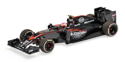 "McLaren MP4-30 ""GP. Gran Bretaña"" nº 22 Jenson Button (2015) Minichamps 1:43"