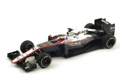"McLaren MP4-30 n°22 ""GP. China"" nº 22 Jenson Button (2015) Spark 1:18"