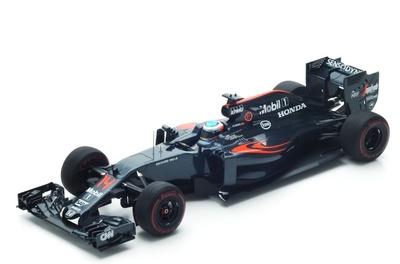 "McLaren MP4-31 ""5º GP. Mónaco"" n°14 Fernando Alonso (2016) Spark 1:18"