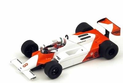 """McLaren MP4/1 """"GP. Mónaco"""" nº 8 Andrea De Cesaris (1981) Spark 1:43"""