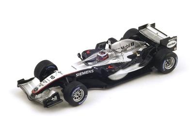 "McLaren MP4/20 ""1º GP. Gran Bretaña"" nº 10 Juan Pablo Montoya (2005) Spark 1:43"