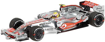 """McLaren MP4/22 """"GP. Canadá"""" nº 2 Lewis Hamilton (2007)  Minichamps 1/18"""