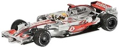 "McLaren MP4/23 ""GP. Brasil"" nº 22 Lewis Hamilton (2008) Minichamps 1/43"